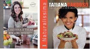 livros de receitas culinárias