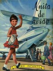 Anita de avião